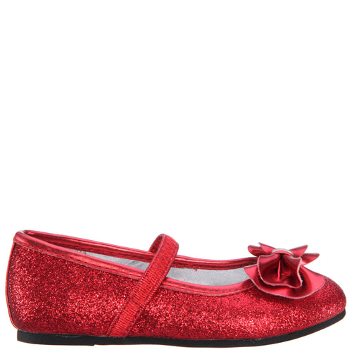 ROSALBA-TODDLER-RED GLITTER
