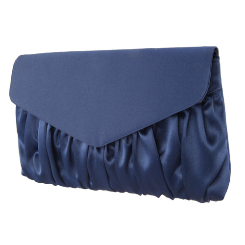 SALOME-NEW NAVY SATIN
