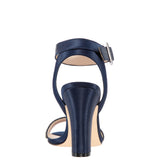 SHARON-NAVY-LUSTER SATIN
