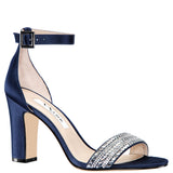 SUZETTE-NEW NAVY LUSTER SATIN