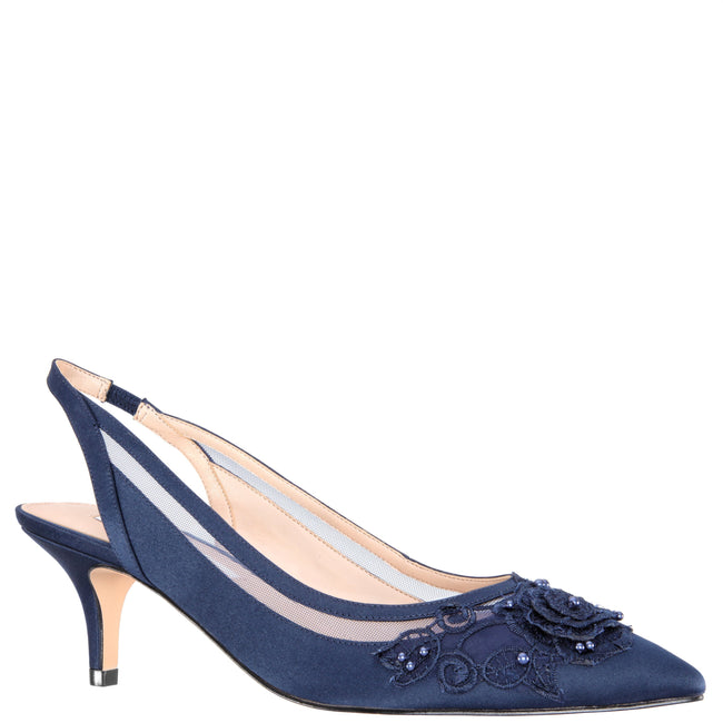 TAELA-NEW NAVY SATIN