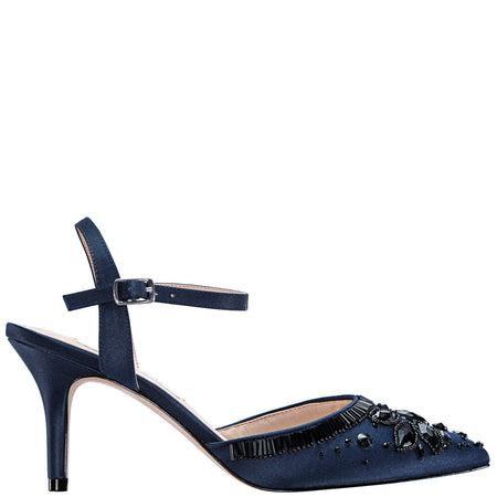 VERITY-NEW NAVY SATIN
