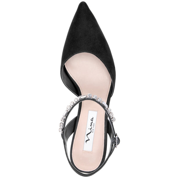 TONYA2-TRUE BLACK GLAM SUEDE