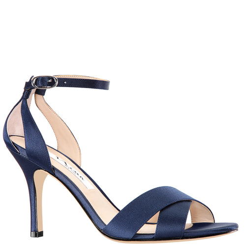 VENUS-NEW NAVY LUSTER SATIN