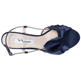 VIANA-NEW NAVY LUSTER SATIN