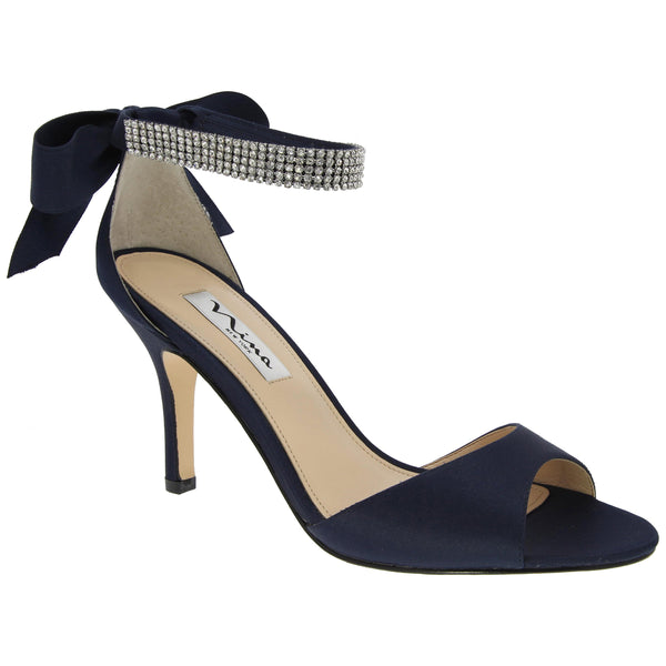 VINNIE-NEW NAVY SATIN