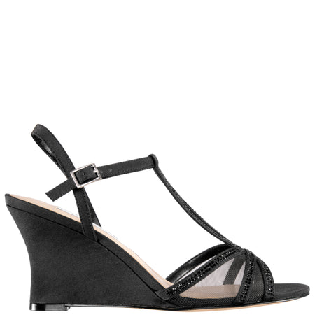 VENETIA-BLACK SATIN