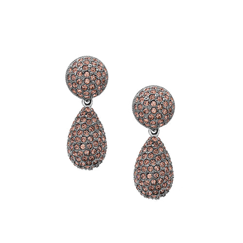 ADINA EARRING-BLUSH ROSE
