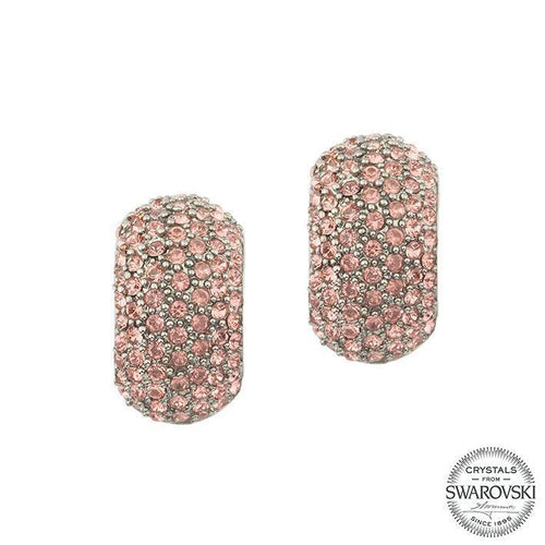 ARDELA EARRING-BLACK RHODIUM BLUSH