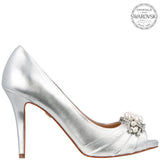 RUANA-SILVER LEATHER