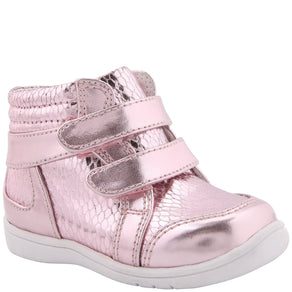 Nina Stardust High Top(Infant/Toddler Girls') -Light Pink Metallic/Snake Clearance Big Sale Cheap Sale Sast Outlet Best Prices Very Cheap Sale Online YJKY8koXIn