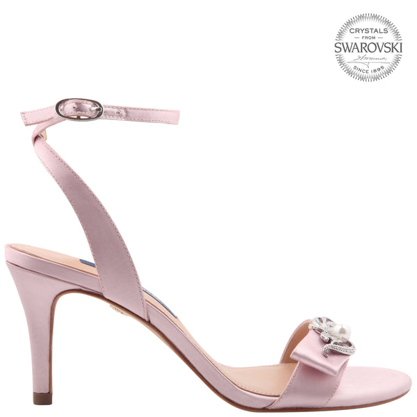 KABIRA-ROSE MIST SATIN
