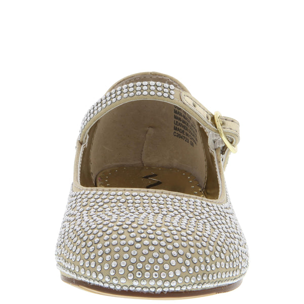 ZELIA-TODDLER-GOLD SATIN