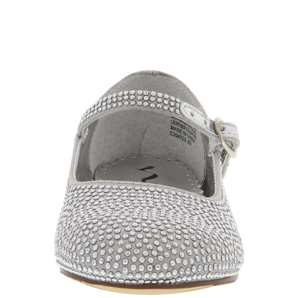 ZELIA-TODDLER-SILVER SATIN
