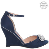 EDYTH-NEW NAVY SATIN