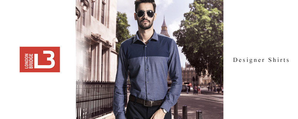 London Bridge Men's Designer Shirts