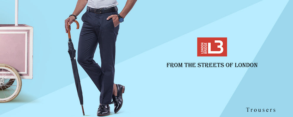 London Bridge Men's Trousers