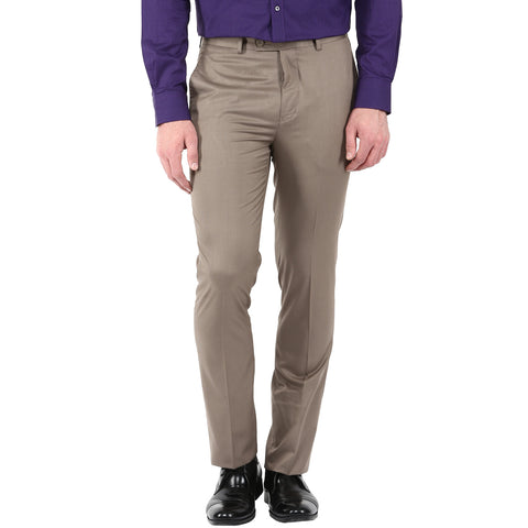 Brown Formal Trouser