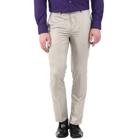 Cream Colored Formal Trouser