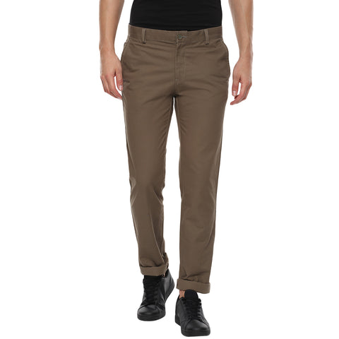 Light Brown Casual Trouser