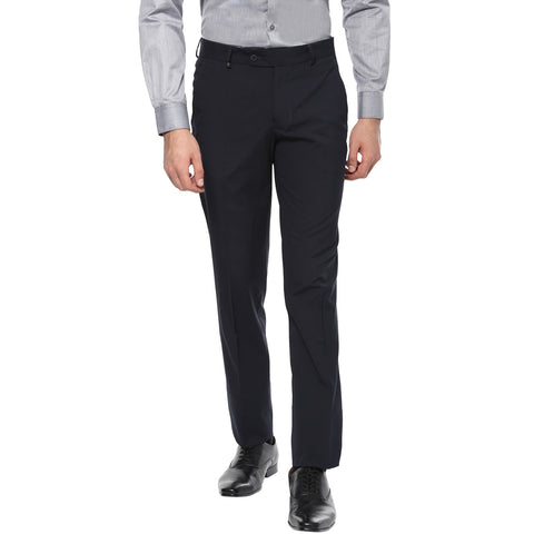 Navy Blue Formal Trouser
