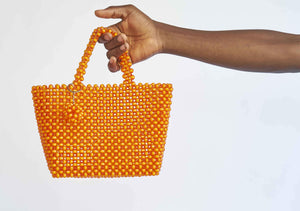 YEVU Accessories - Bag Beaded Bag - Juicy Orange
