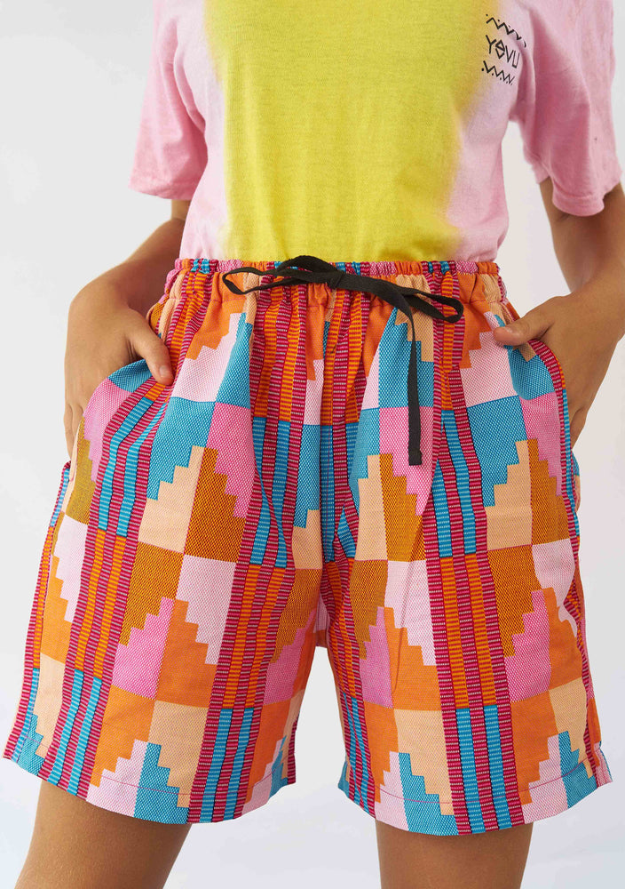 YEVU Women - Trousers Comfy Short - Sherbet