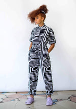 Day/Night Boiler Suit - Monochrome
