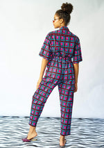 YEVU Women - One Piece Day/Night Boiler Suit - Stained Glass