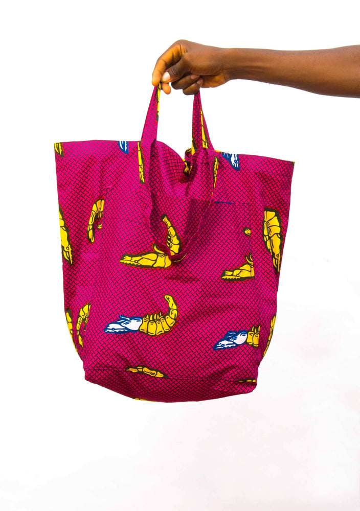 YEVU Accessories - Bag Double Strap Bag - Prawns