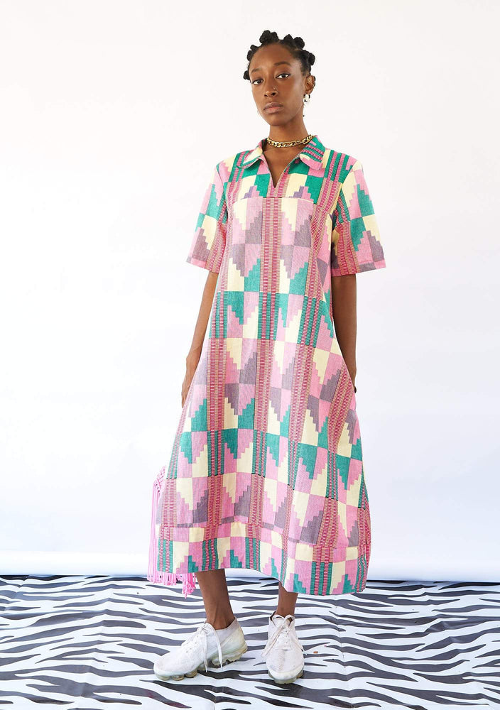 YEVU Women - Dress Easy Midi - Sherbet 2.0