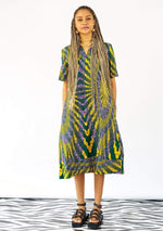 YEVU Women - Dress Easy Midi - Sunrays