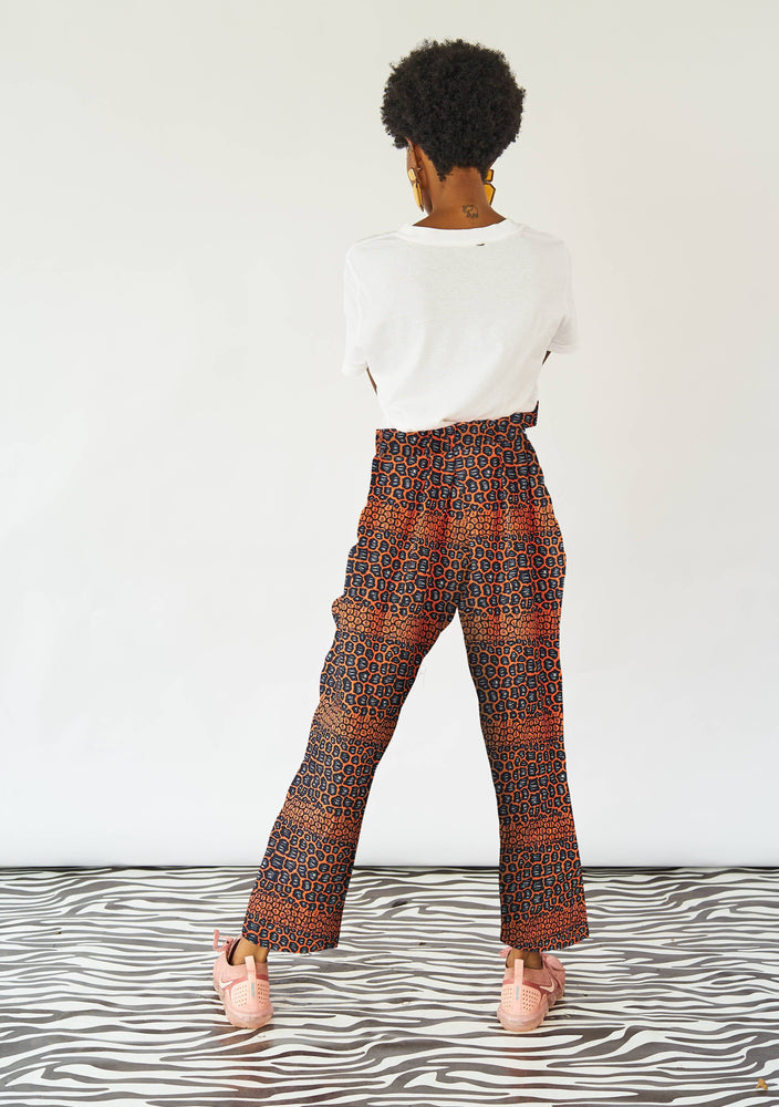 YEVU Women - Trousers Harry High Pants - Peaches
