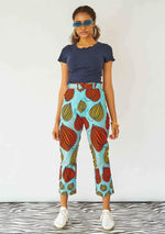 YEVU Women - Trousers Harry High Pants - Pumpkin