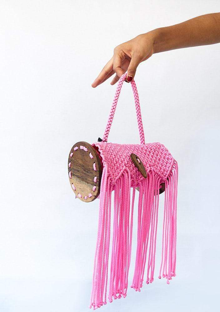 YEVU Accessories - Bag Kaya Bag - Baby Pink