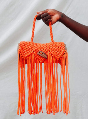 YEVU Accessories - Bag Kaya Bag - Burnt Orange