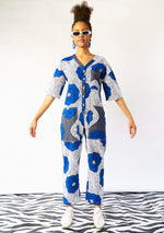 Lax Jumpsuit - Blue Flowers
