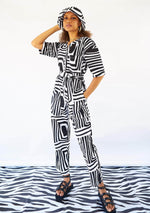 Lax Jumpsuit - Monochrome