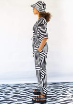 YEVU Women - One Piece Lax Jumpsuit - Monochrome
