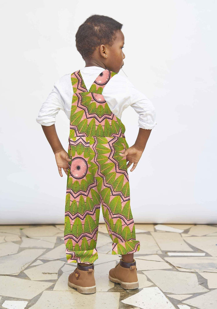 YEVU Kids Mini Overalls - Watermelon