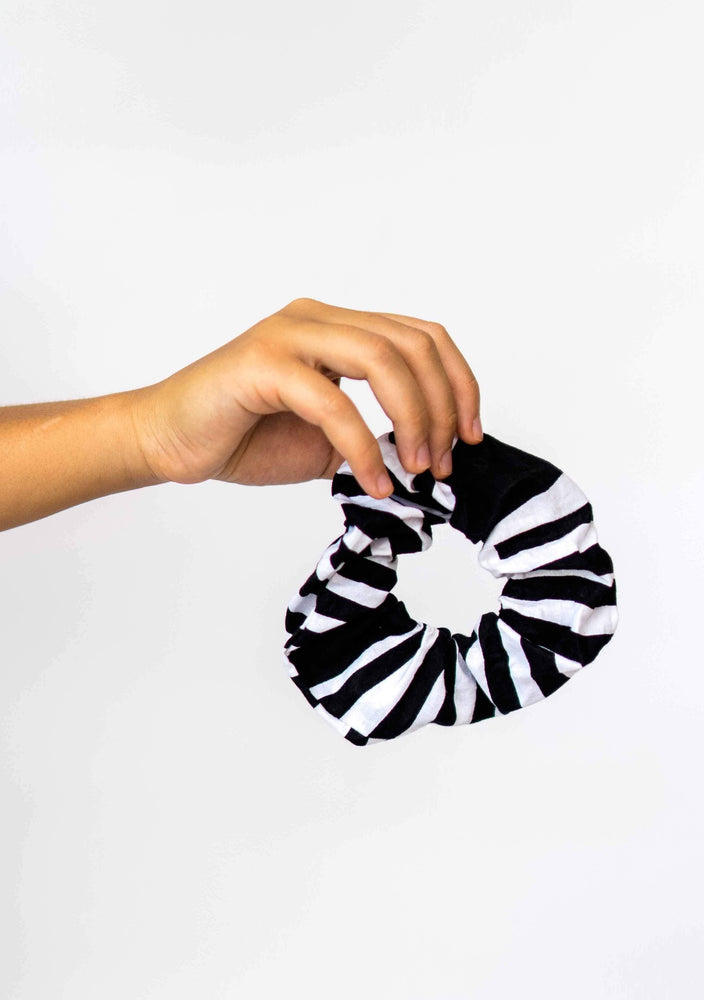 YEVU Accessories - Hat Scrunchie - Monochrome