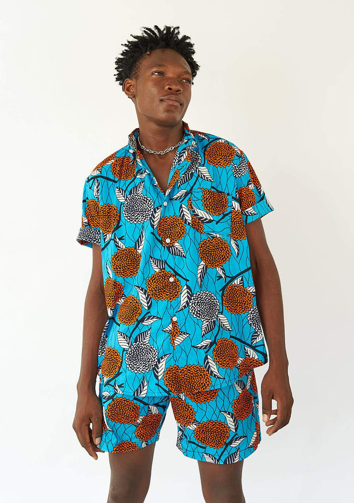 YEVU Men - Shirt Short Sleeve Shirt - Native