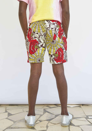 YEVU Men - Shorts Shorts - In Bloom