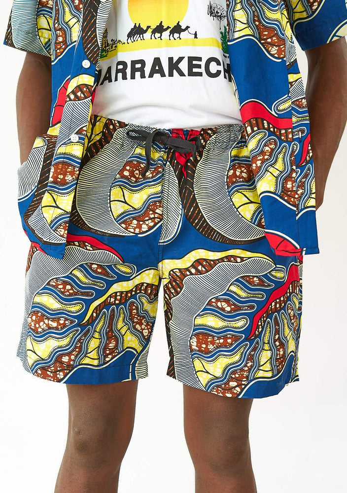 YEVU Men - Shorts Shorts - Lake