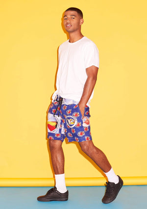 YEVU Men - Shorts Shorts - Pope