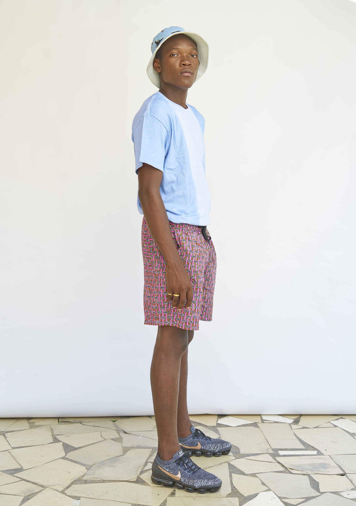 YEVU Men - Shorts Shorts - Worms