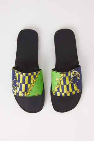YEVU Accessories - Shoes Copy of Slides - Gucci Green