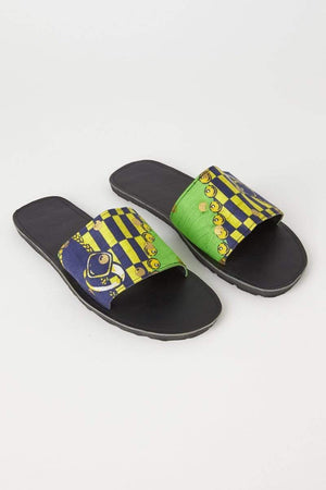 YEVU Accessories - Shoes Slides - Gucci Green