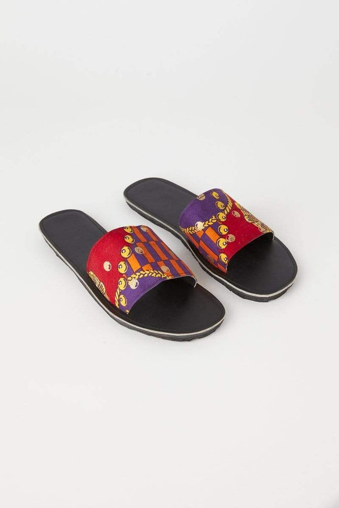 YEVU Accessories - Shoes Slides - Moschino Red