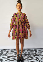 Smock Dress - Peanut Butter